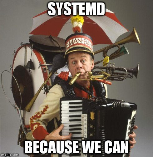 systemd_we_can